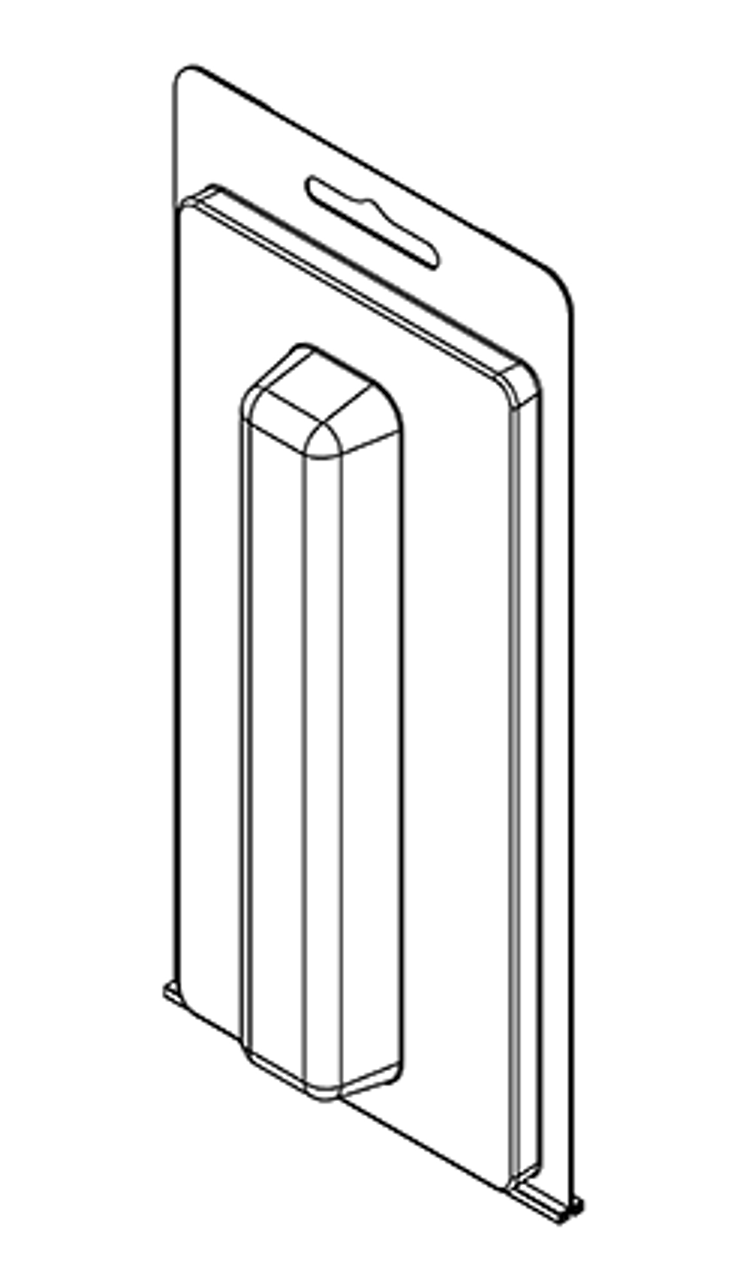 214TF - Stock Clamshell Packaging