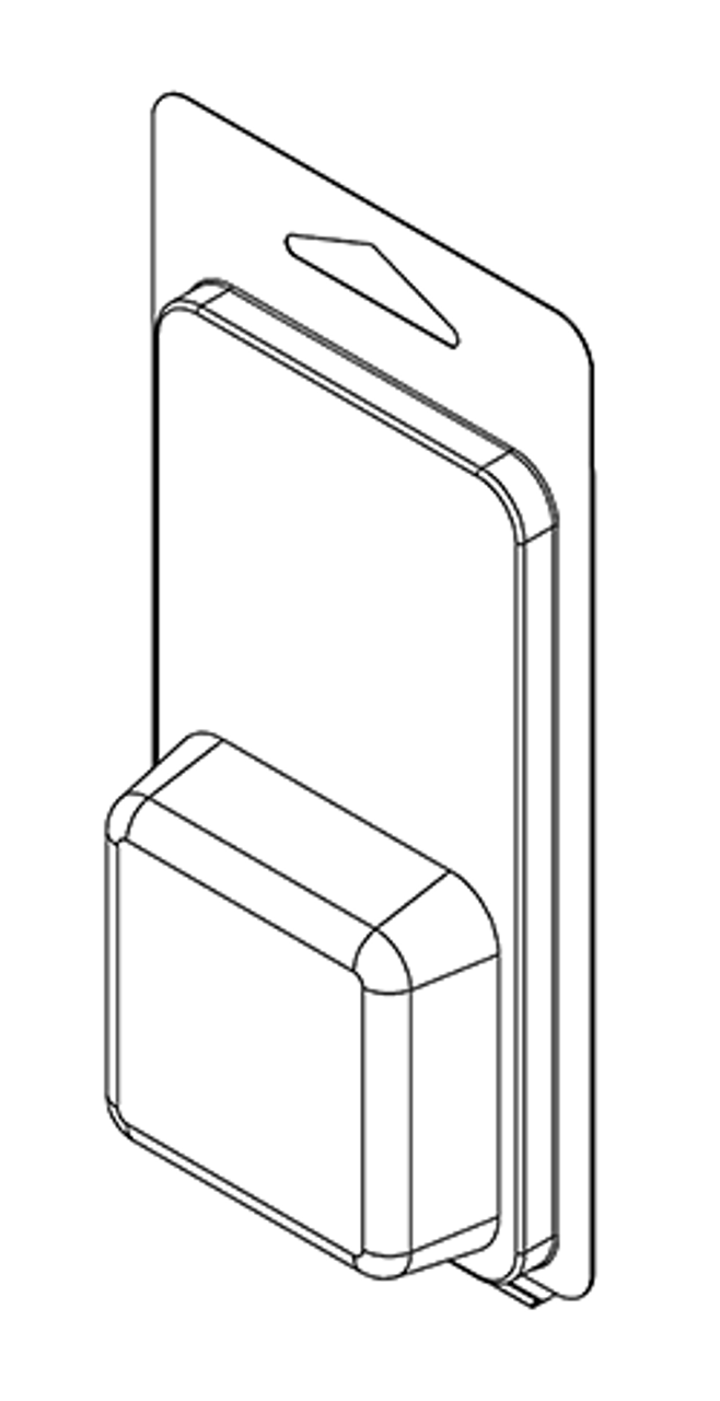 102TF - Stock Clamshell Packaging