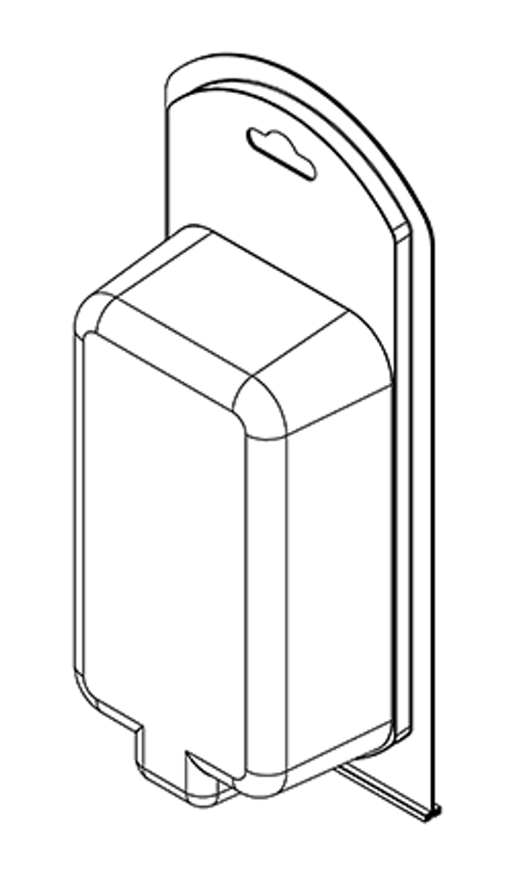 392TF - Stock Clamshell Packaging