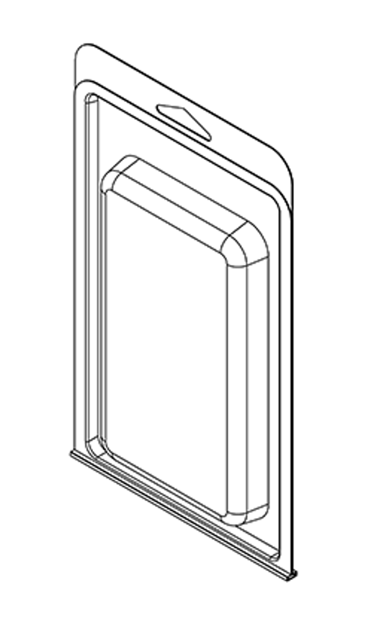 408TF - Stock Clamshell Packaging