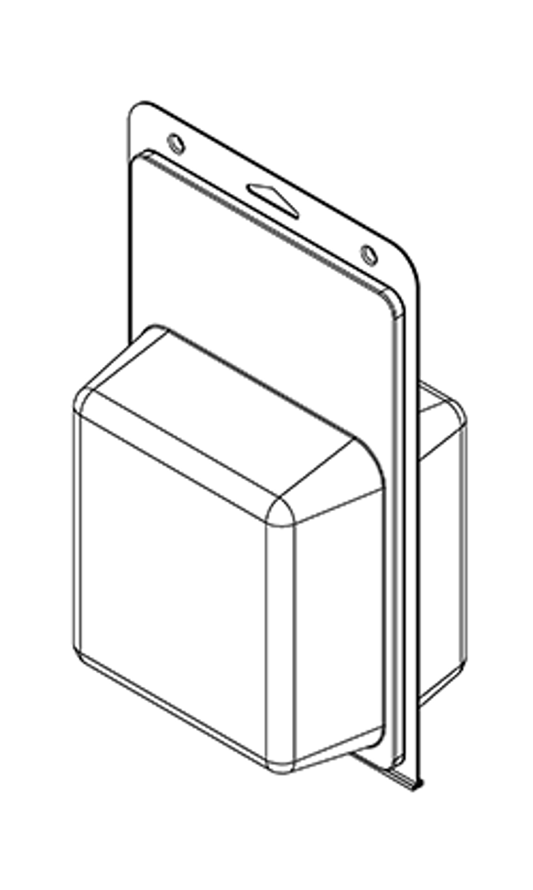 584TF - Stock Clamshell Packaging