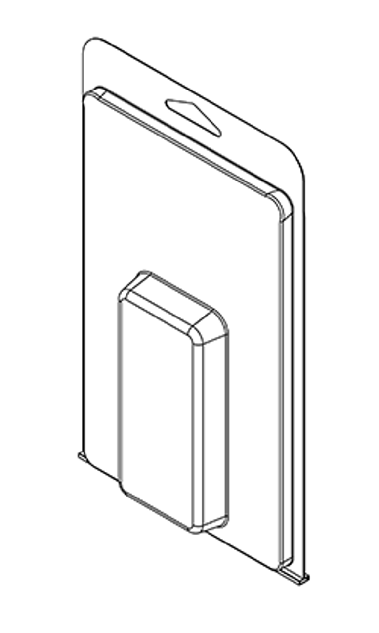 413TF - Stock Clamshell Packaging