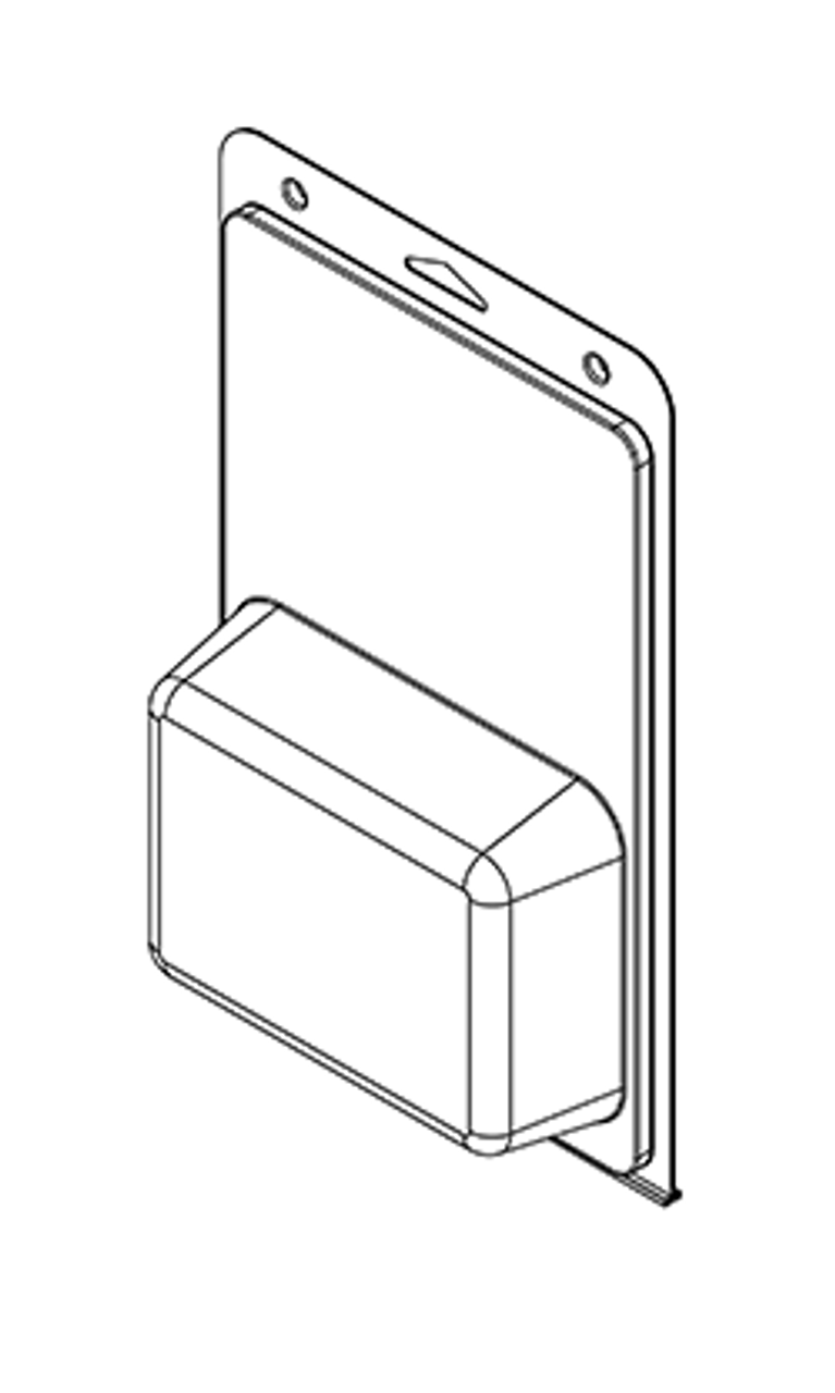 585TF - Stock Clamshell Packaging