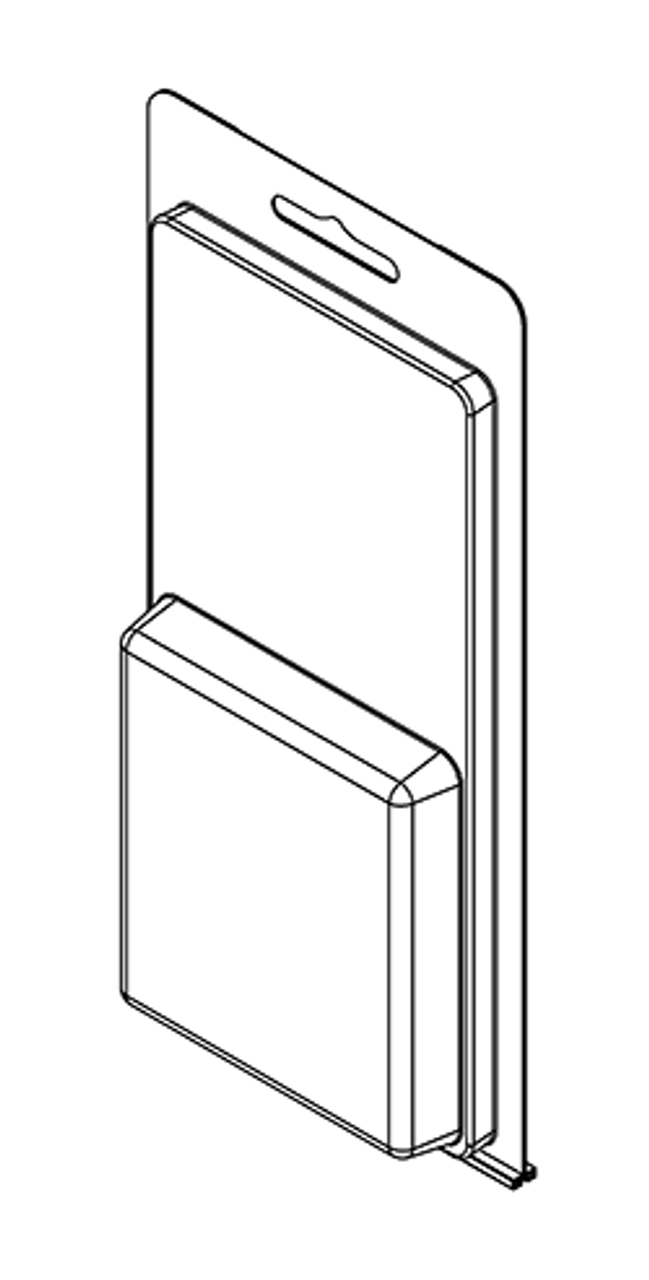 215TF - Stock Clamshell Packaging