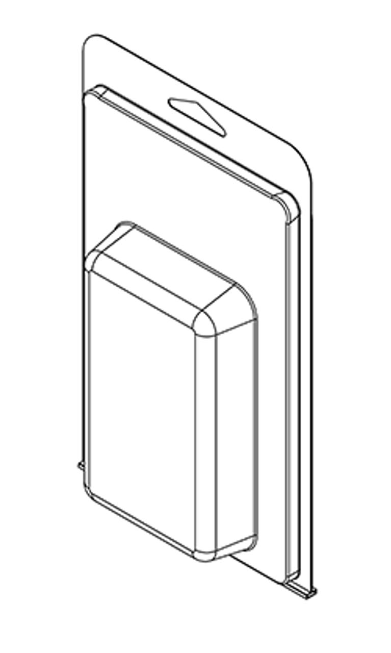 414TF - Stock Clamshell Packaging