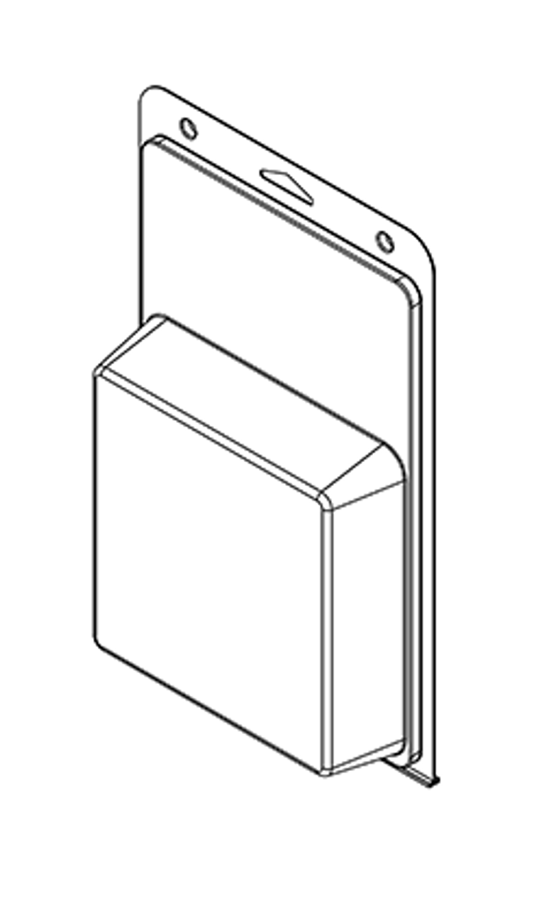589TF - Stock Clamshell Packaging