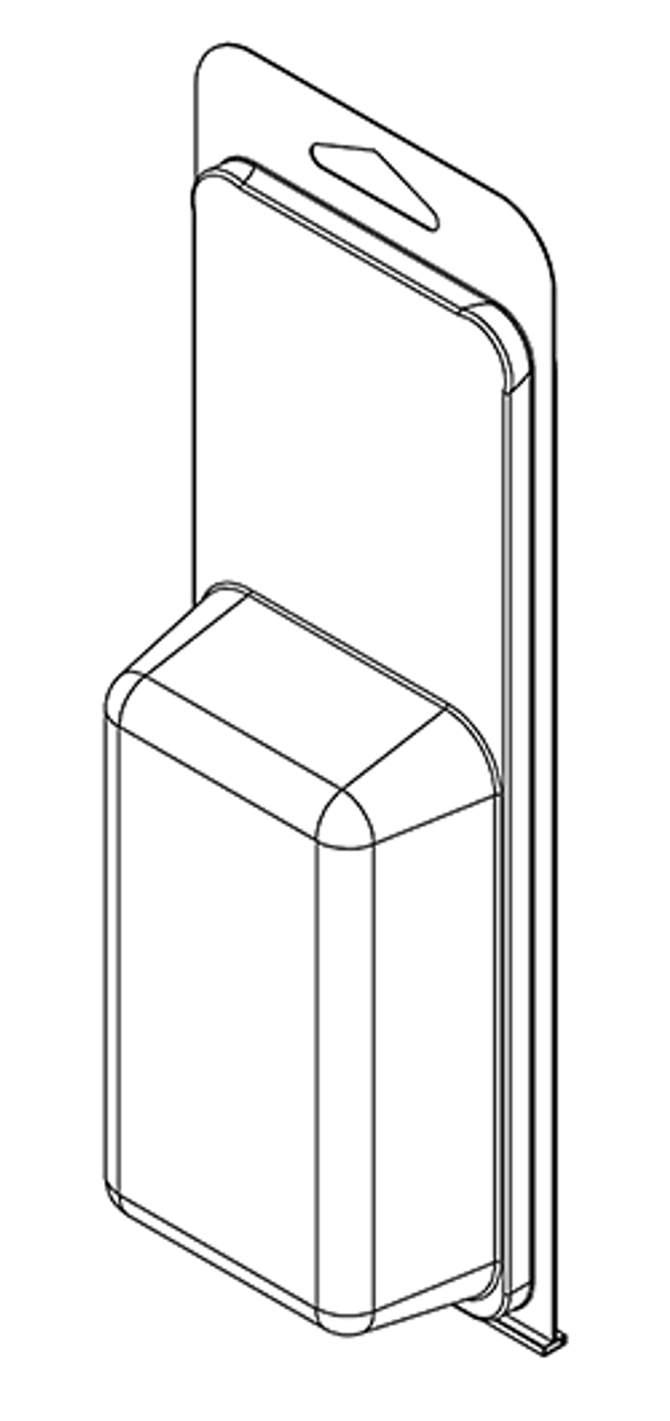 376TF - Stock Clamshell Packaging