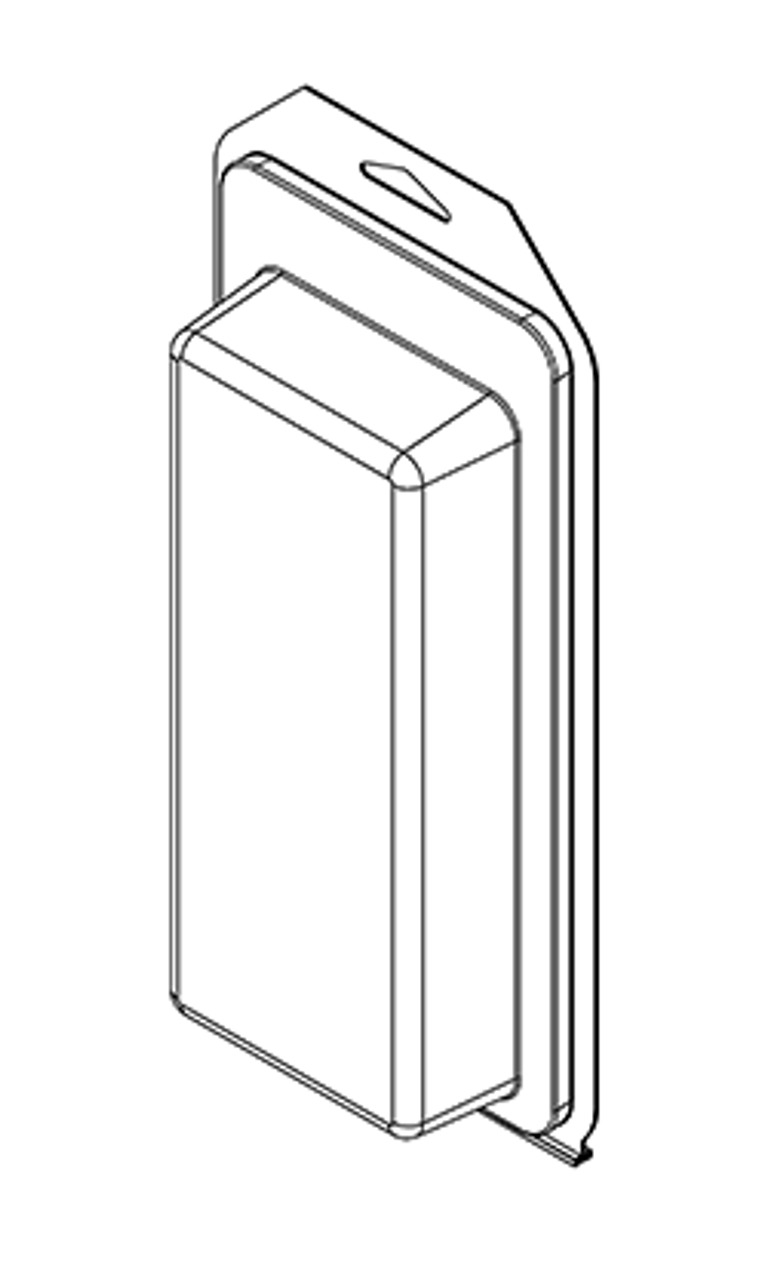 502TF - Stock Clamshell Packaging