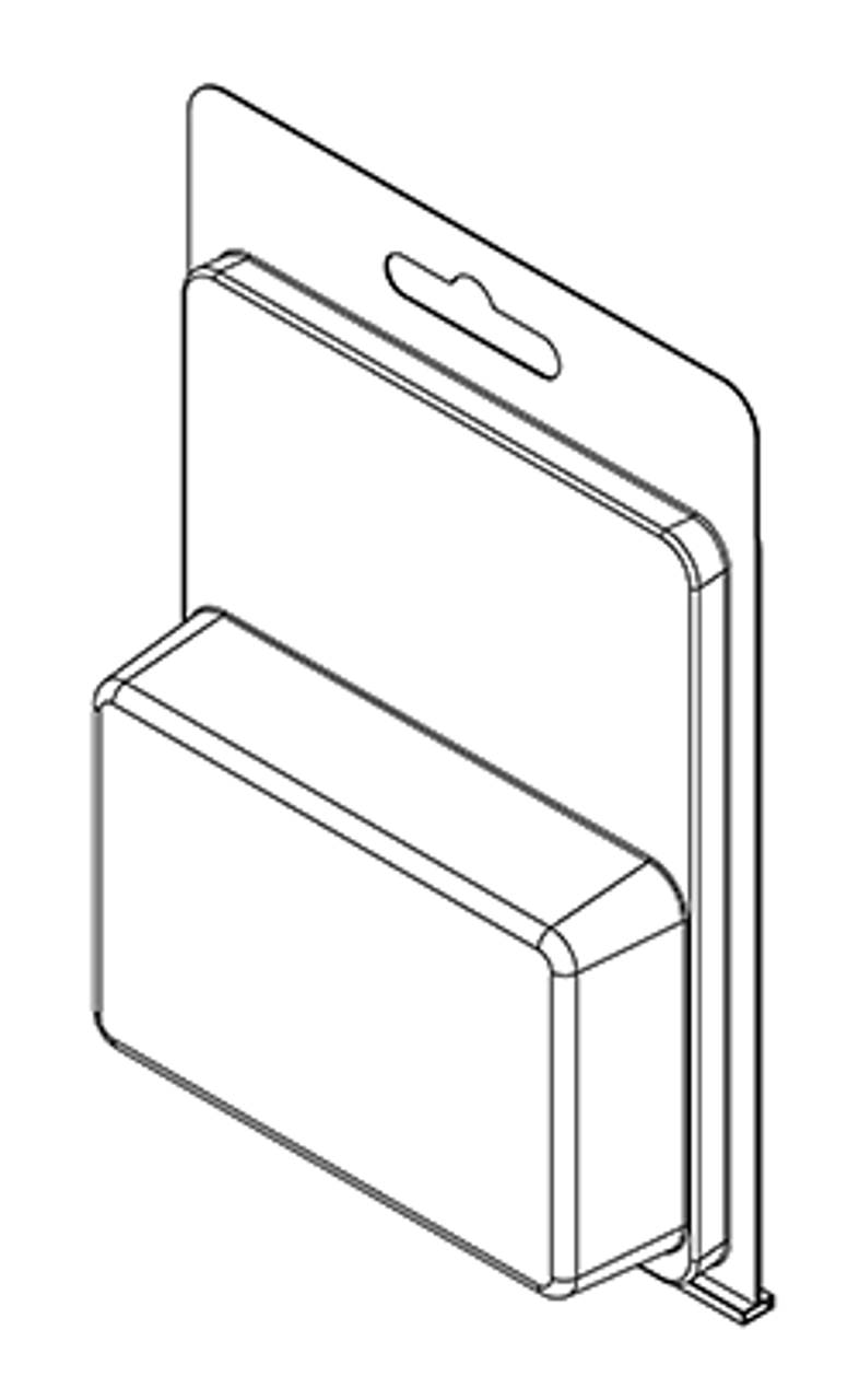181TF - Stock Clamshell Packaging