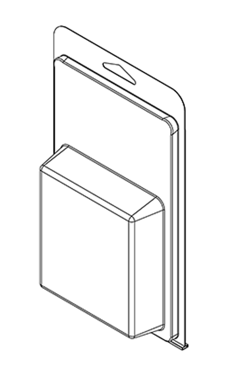 416TF - Stock Clamshell Packaging