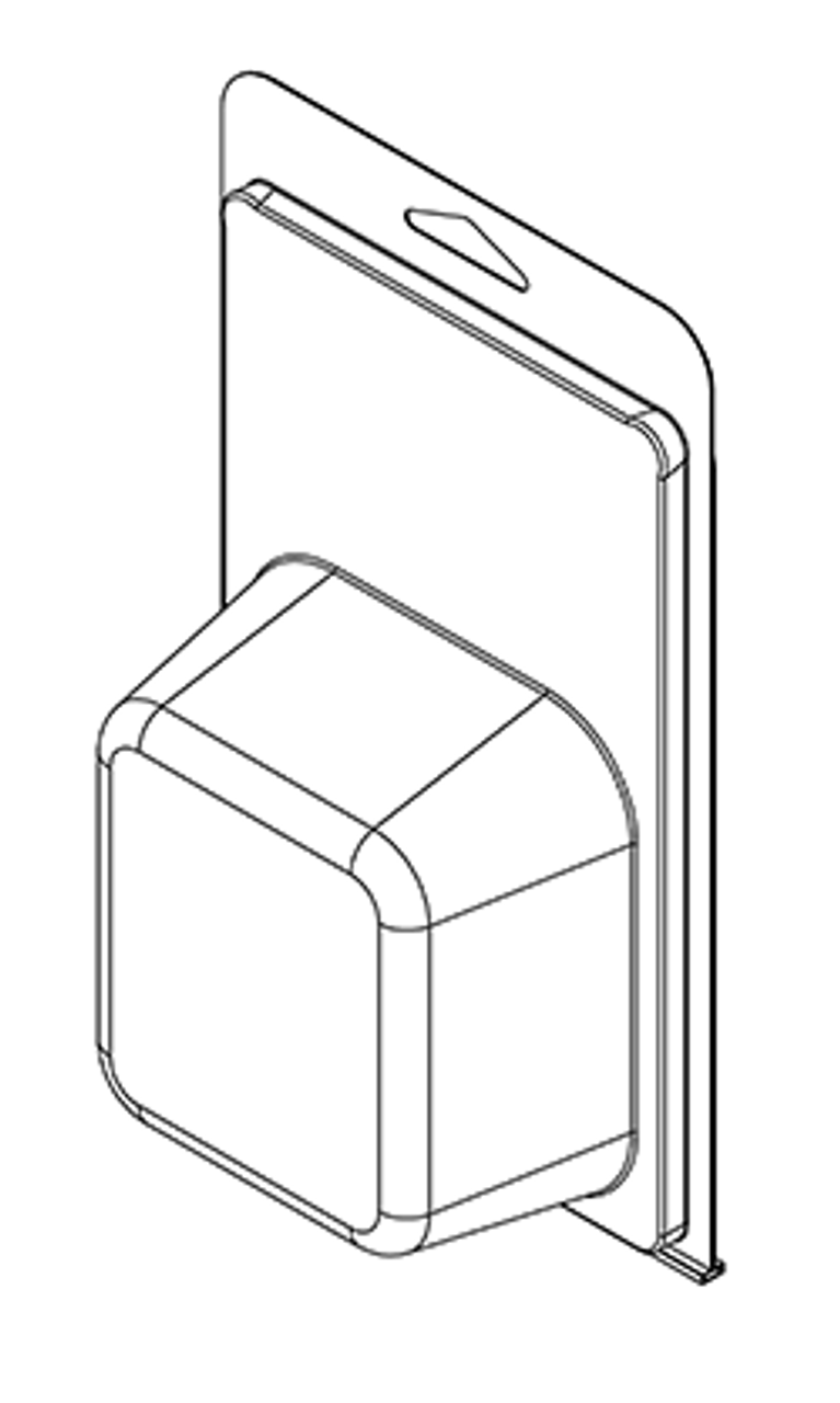 419TF - Stock Clamshell Packaging