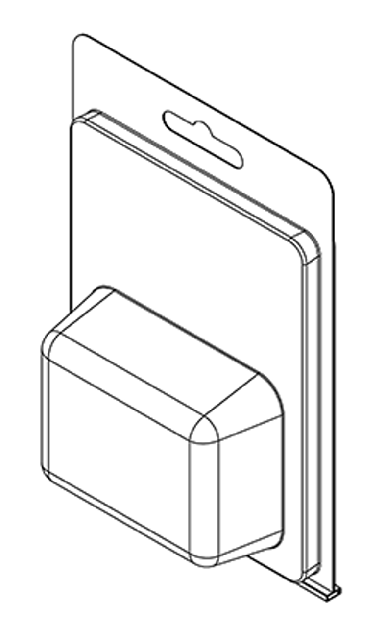 176TF - Stock Clamshell Packaging