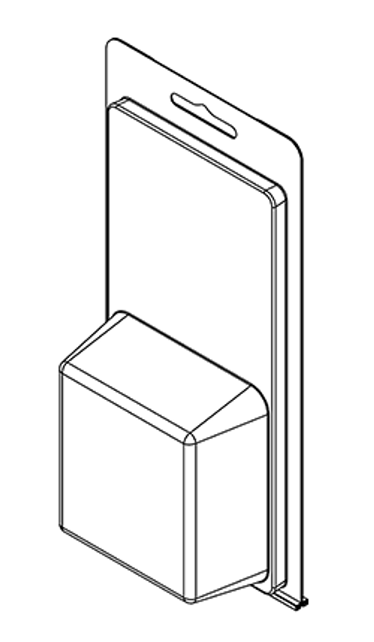 202TF - Stock Clamshell Packaging