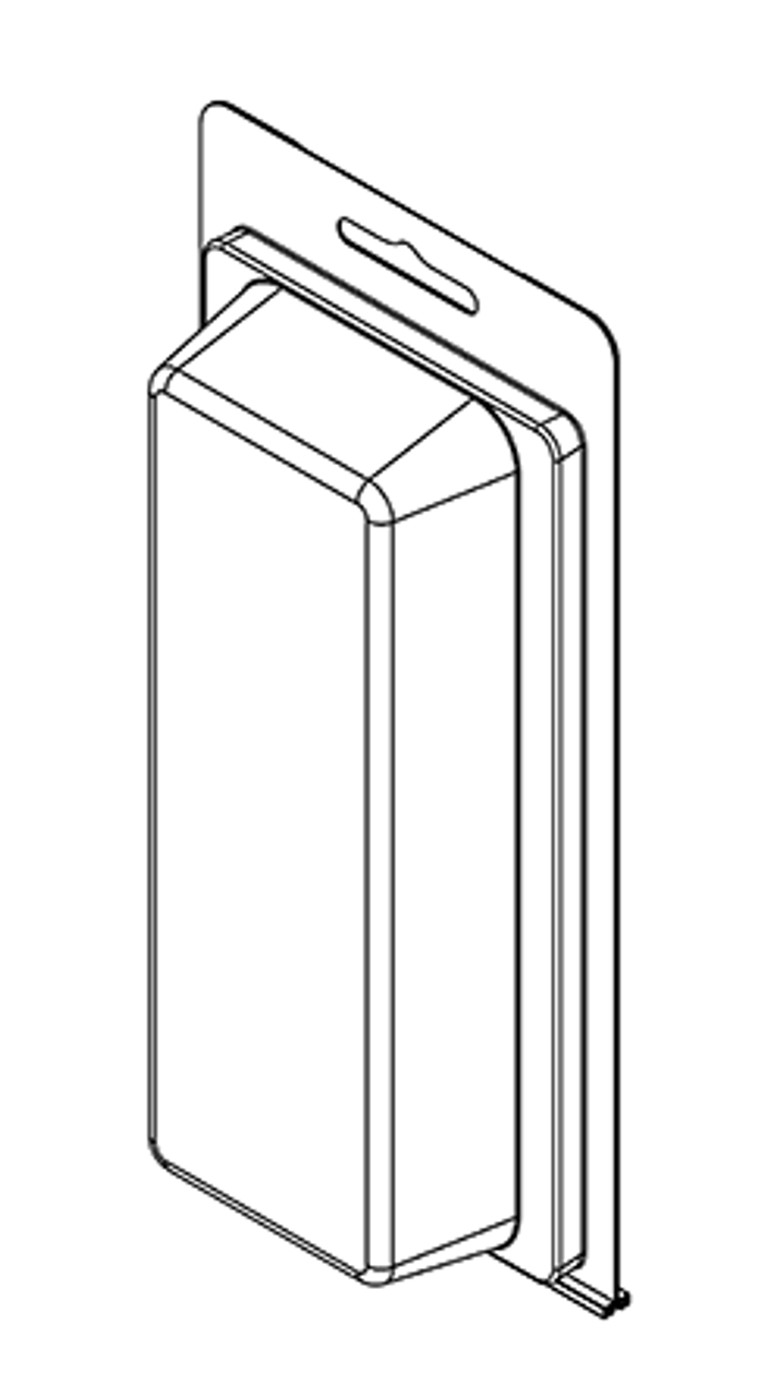 201TF - Stock Clamshell Packaging