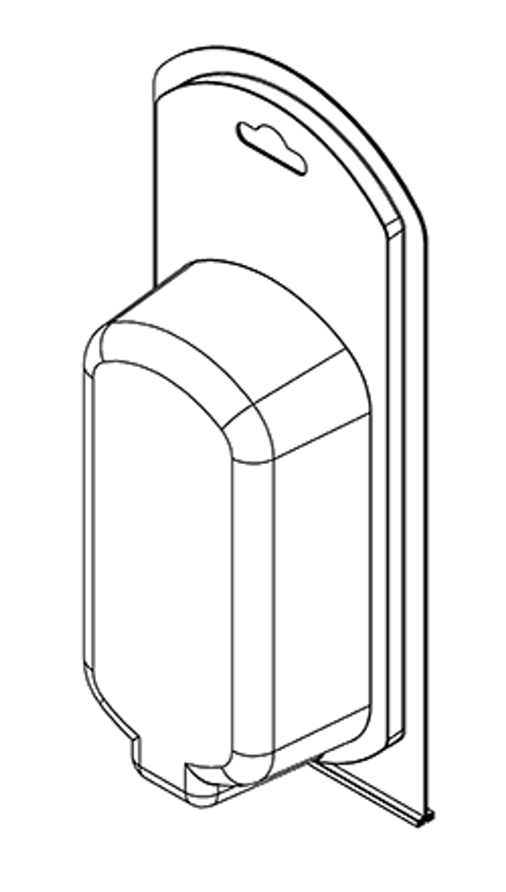 391TF - Stock Clamshell Packaging