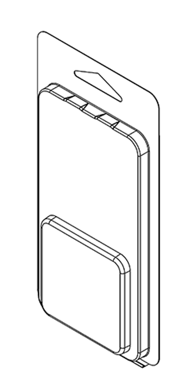 105TF - Stock Clamshell Packaging