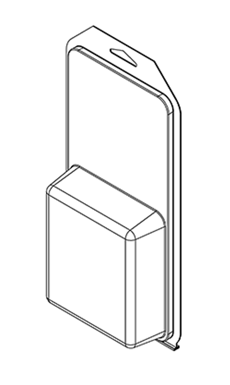 503TF - Stock Clamshell Packaging