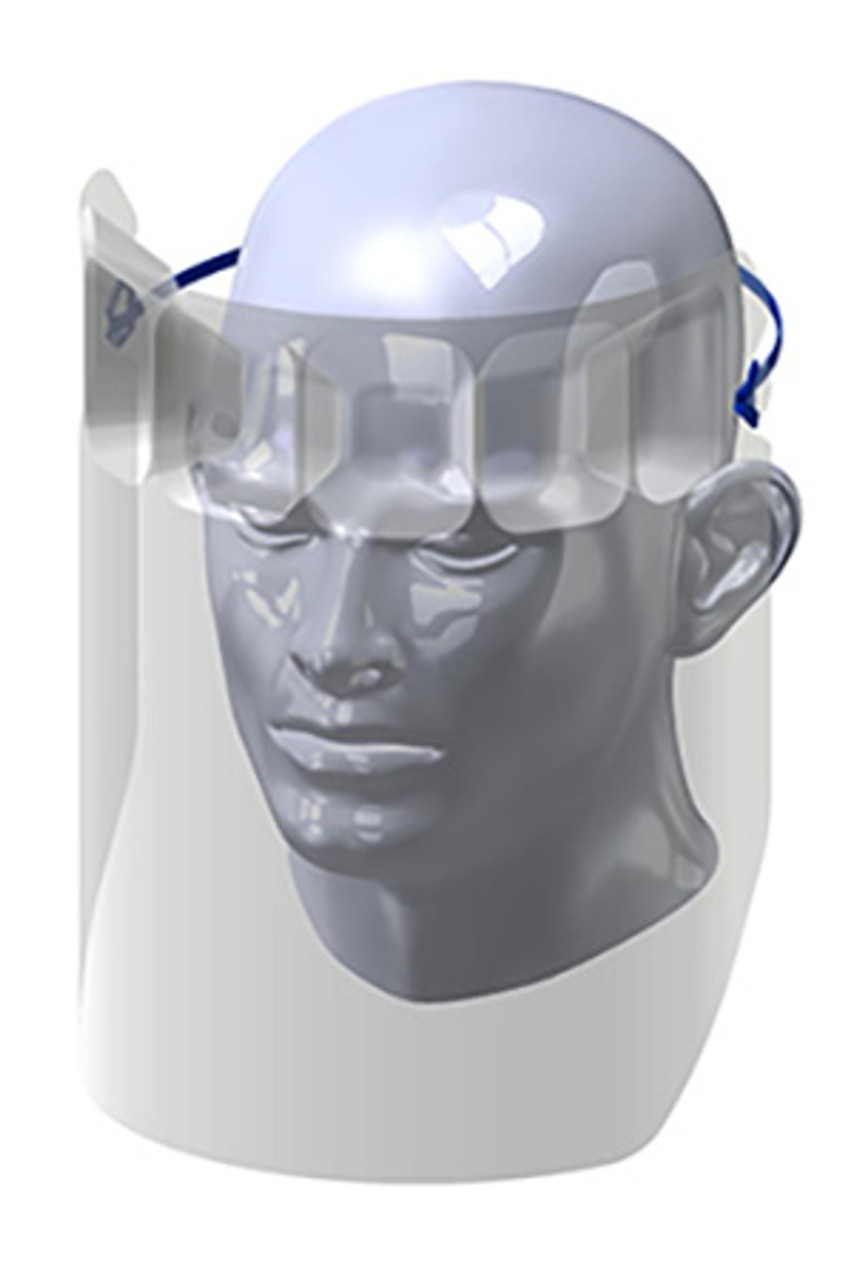 VisiGuard® 1.0 Face Shield With FlexBand Rendering