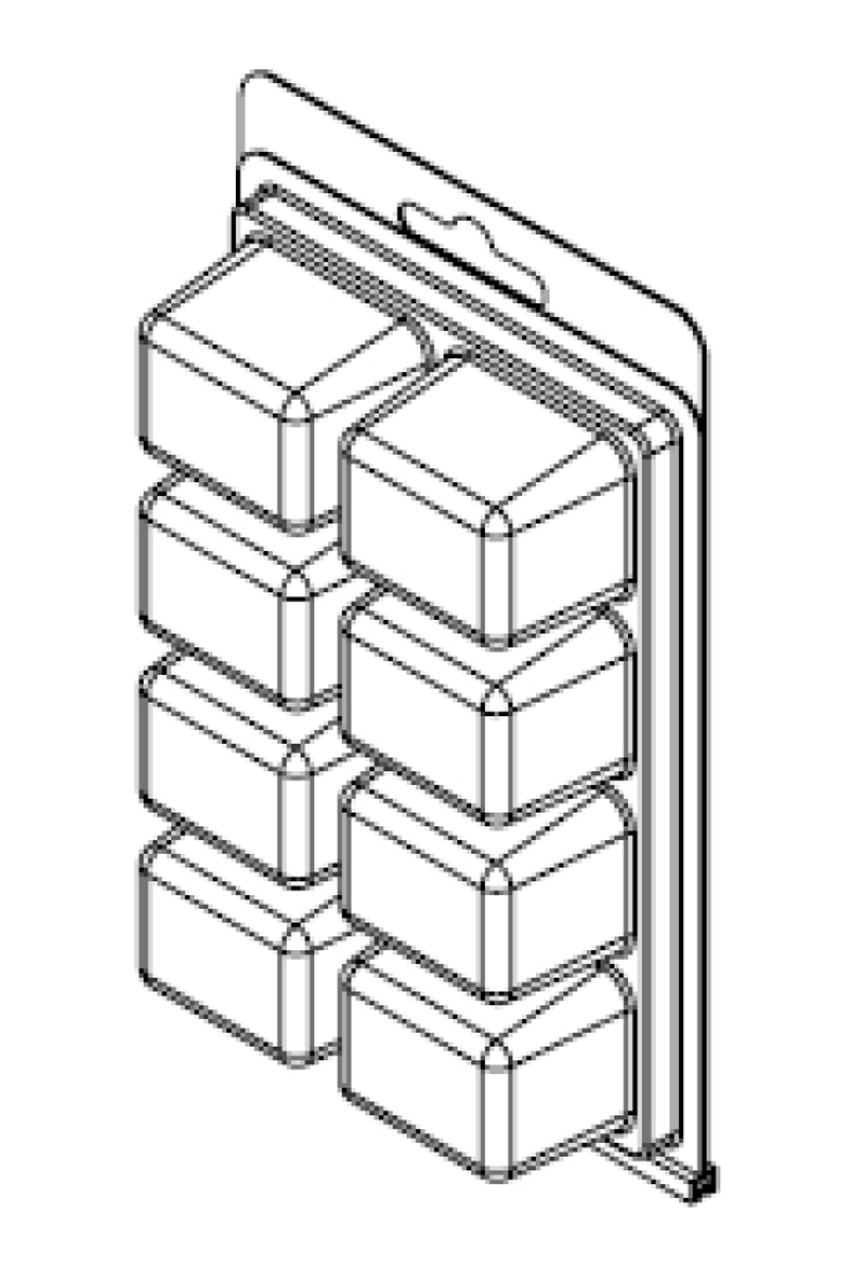 8-Compartment ClamTray