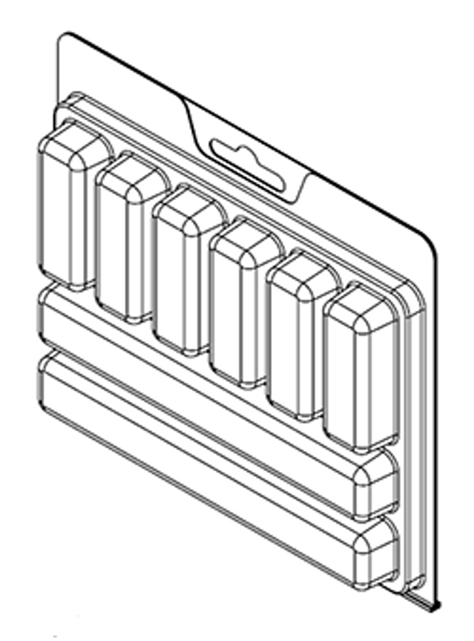 8 Compartment ClamTray