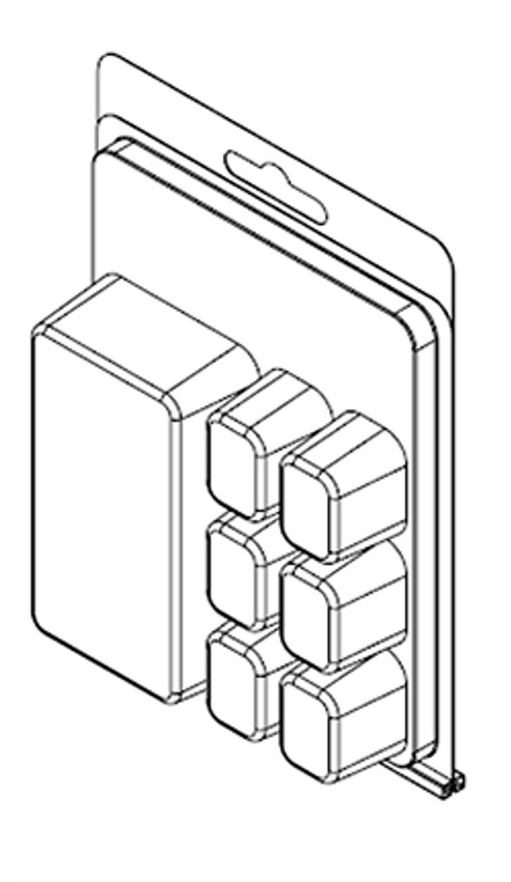 7 Compartment ClamTray