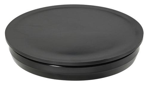 """1-3/8"""" Black Round Poly Plug"""