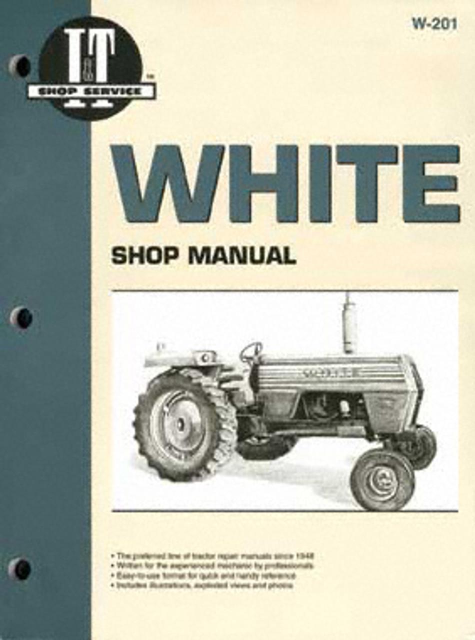 2-155 White Tractor Technical Service Shop Repair Manual Book Diesel 2 155