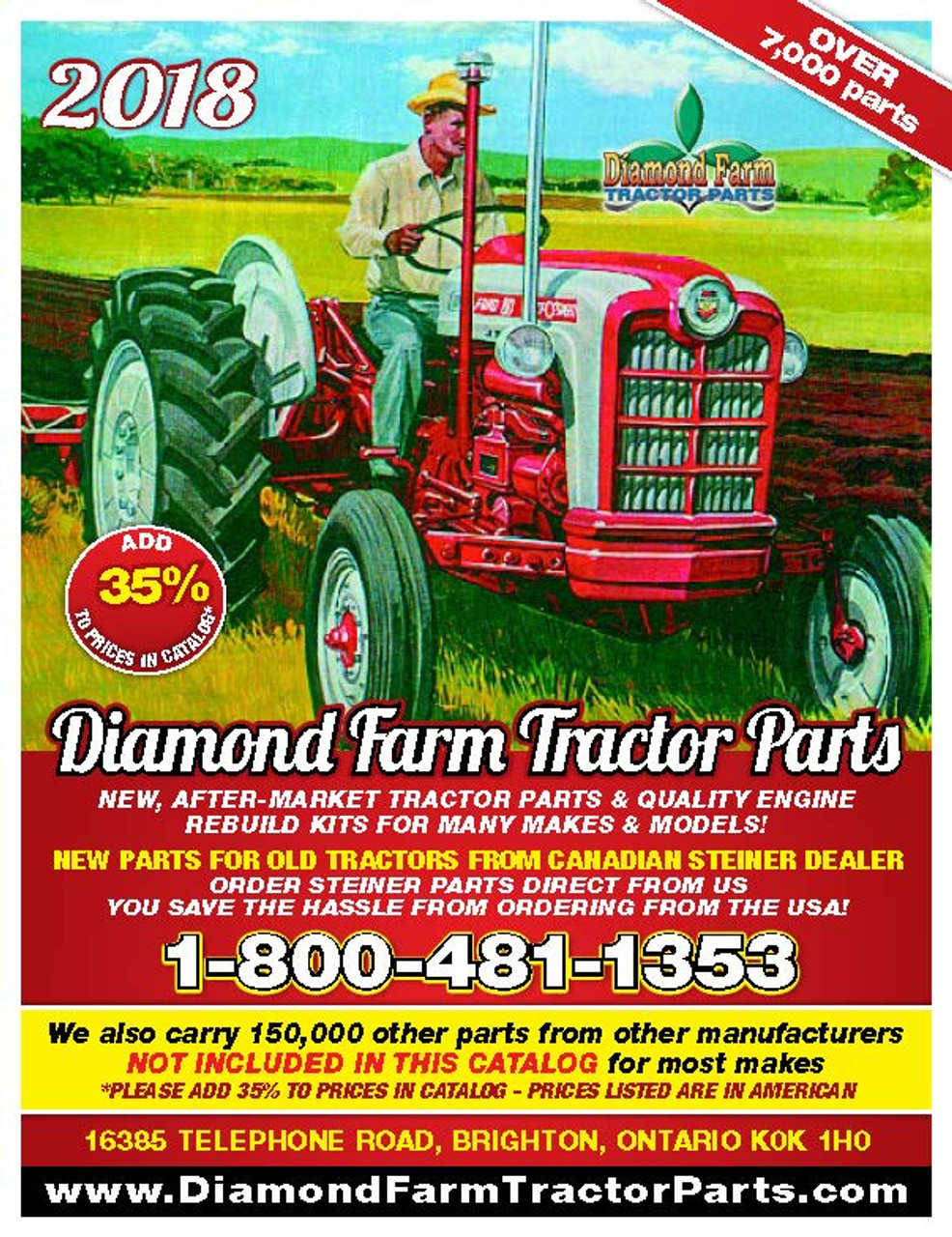 Oliver 600 Tractor Parts Manual Book Heavy Equipment Manuals ... on