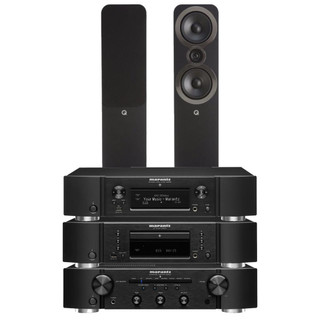 Marantz PM6007, CD6007, NA6006 and Q Acoustics Q3050i Bundle
