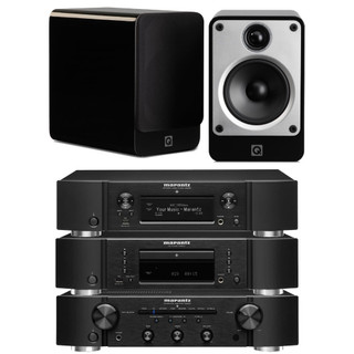 Marantz PM6007, CD6007, NA6006 and Q Acoustics Concept 20 Bundle