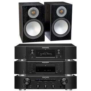 Marantz PM6007, CD6007, NA6006 and Monitor Audio Silver 6G 100 Bundle