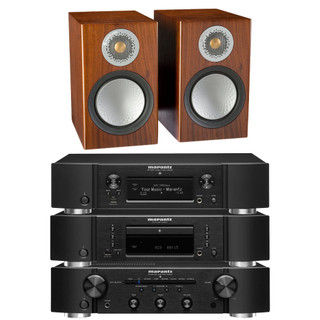 Marantz PM6007, CD6007, NA6006 and Monitor Audio Silver 6G 50 Bundle