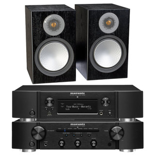 Marantz PM6007, NA6006 and Monitor Audio Silver 6G 100 Bundle