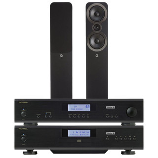 Rotel A11 & CD11 Tribute and Q Acoustics Q3050i Bundle