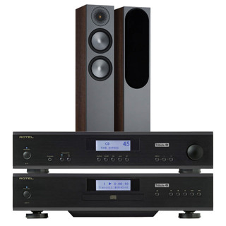 Rotel A11 & CD11 Tribute and Monitor Audio Bronze 6G 200 Bundle