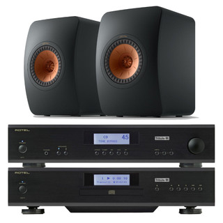 Rotel A11 & CD11 Tribute and KEF LS50 Meta Bundle