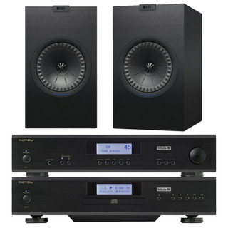 Rotel A11 & CD11 Tribute and KEF Q350 Bundle