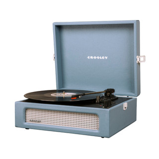 Cruiser Voyager Portable Turntable - Washed Blue