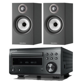 Denon RCD-M41 and Bowers & Wilkins 607 S2 Bundle