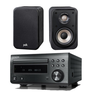 Denon RCD-M41 and Polk S10e Bundle