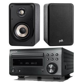 Denon RCD-M41 and Polk S15e Bundle