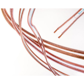Van Damme UP-LCOFC HiFi Grade 4.00mm Speaker Cable Clear