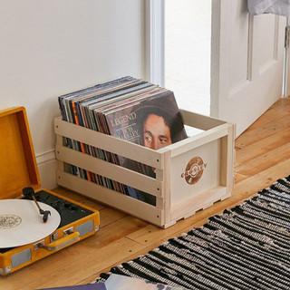 Crosley Record Storage Box