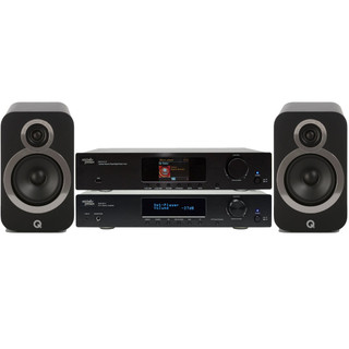 M&J Streaming Bundle with Q Acoustics 3020i
