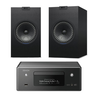Denon CEOL RCDN11 and KEF Q150 Bundle
