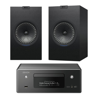 Denon CEOL RCDN11 and KEF Q350 Bundle