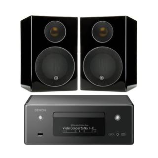 Denon CEOL RCDN11 and Monitor Audio Radius-90 Bundle