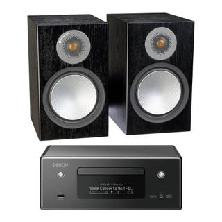 Denon CEOL RCDN11 and Monitor Audio Silver 100 Bundle