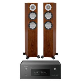 Denon CEOL RCDN11 and Monitor Audio Silver 200 Bundle
