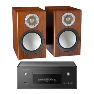 Denon CEOL RCDN11 and Monitor Audio Silver 50 Bundle